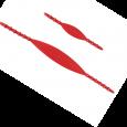 Elastici di ricambio per palette con tacchette di regolazione. <br /><br />