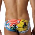 Costume da nuoto per uomo slip 100% foderato.
