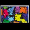 Okeo - Telo 90 x 150 graphics - Primula