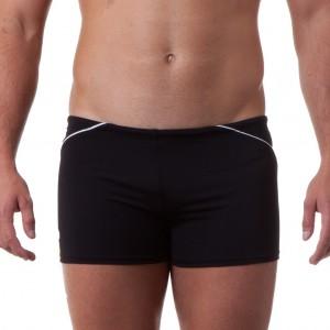 Costume short da uomo per il nuoto amatoriale. Comodo slip interno.