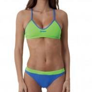 Costume donna 2 pezzi della linea Training, perfetto per nuotare e giocare a beach volley. Colori ti