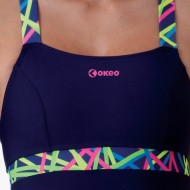 Costume donna intero per piscina della linea Fun&Fit con sostegno seno e vestibilit