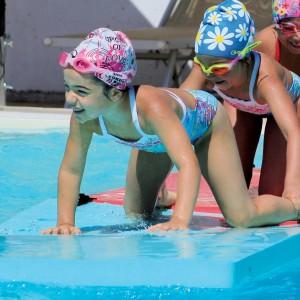 Zattera in espanso per la scuola nuoto e la ludodidattica. Dimensioni: 200x100, spessore 8 cm