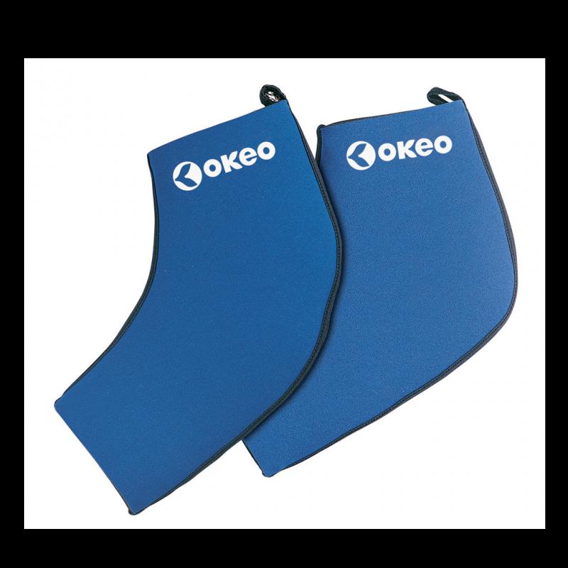Calza in neoprene ideale per praticare Aquafitness con gli attrezzi Okeo. Protegge il piede e dona c