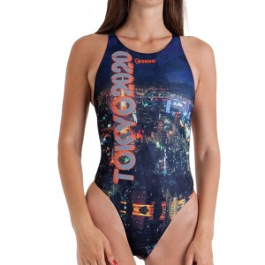 Costume intero da donna per il nuoto indicato per l'allenamento. Vestibilit