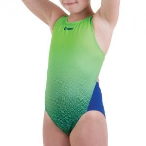 Costume da bagno intero bambina per la scuola nuoto.