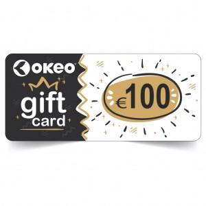 Ecco un'idea regalo utilissima: la GIFT CARD OKEO! Regala a chi vuoi tu un credito di