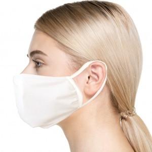 Pack da 10 mascherine SANIMASK Okeo, lavabili e sanificabili realizzate con tessuto perfettamente tr