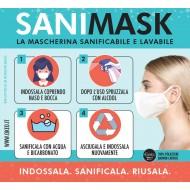 La mascherina SANIMASK Okeo