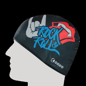 Okeo - Cuffia Lycra Graphics - Rock&Roll