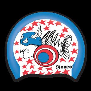 Okeo - Cuffia Silicone Graphics - America