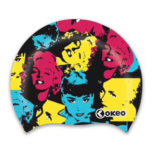 Okeo - Cuffia Silicone Graphics - Primula
