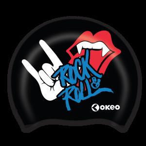 Okeo - Cuffia Silicone Graphics - Rock&Roll