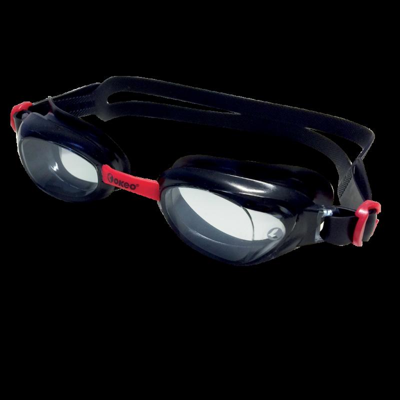 Occhialini nuoto con laccetto elastico centimetrato.