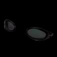 Occhialini specchiati con lente multisettoriale. Per nuoto outdoor.