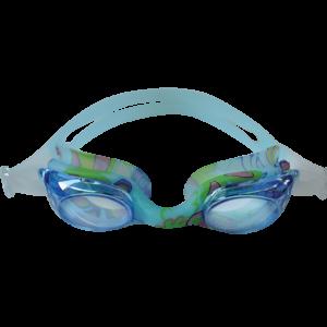 Occhialini da nuoto per bambini con guarnizione stampata.
