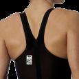 Costume da donna da gara omologato FINA con schiena coperta. Tessuto idrofobico per la massima perfo