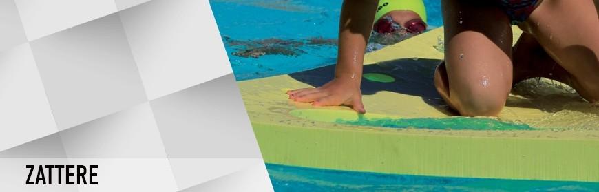 Zattere galleggianti per la piscina
